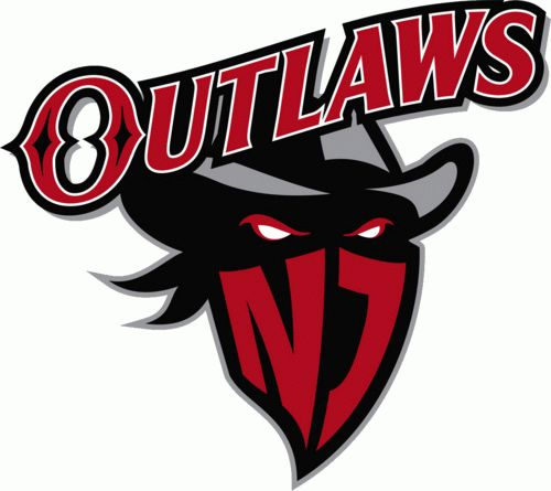 new jersey outlaws primary logo 2012 sports logos