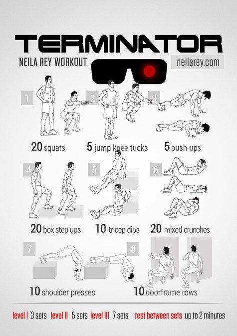 Neila Rey Workout, Terminator