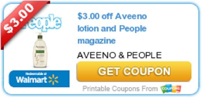 Printable coupons for aveeno baby lotion