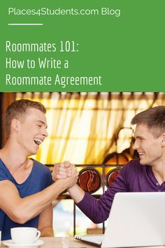 While a roommate agreement may not be legally binding it's a good means of establishing rules and expectations.                                                                                                                                                      More