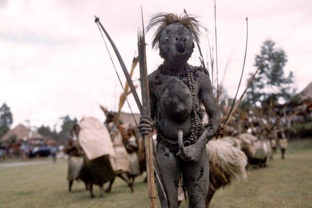 Menschen aus Papua-Neuguinea