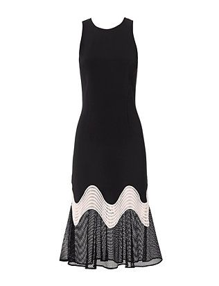 Jonathan Simkhai Trumpet Wave Dress