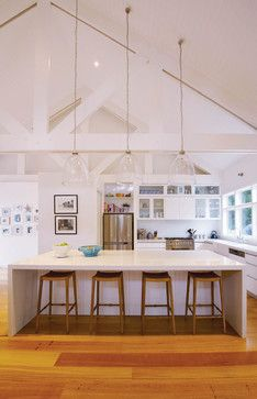 Best 25 Raked Ceiling Ideas On Pinterest White Beams