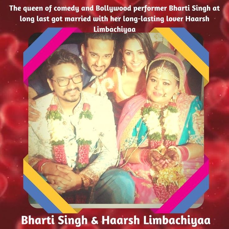 Bharti Singh ties hitch with Haarsh Limbachiyaa - @Marriage Guidance New Concept The queen of comedy and Bollywood performer Bharti Singh at long last got married with her long-lasting lover Haarsh Limbachiyaa in a private function in Goa.  The couple got married in a conventional Hindu service on third December 2017, within the sight of dear loved ones. #BhartiSinghComedian #Bollywood #ComedyQueen #Goa #Marriage #ConventionalHinduService