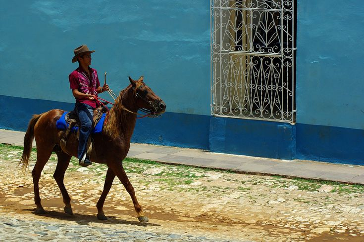 Riding a horse around Trinidad, Cuba. Picture credit: Iker Merodio  Just Go Places | Share Travel Experience
