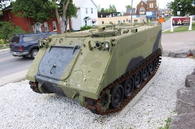 Commemorative Armoured Personnel Carrier, Arnprior, Ontario