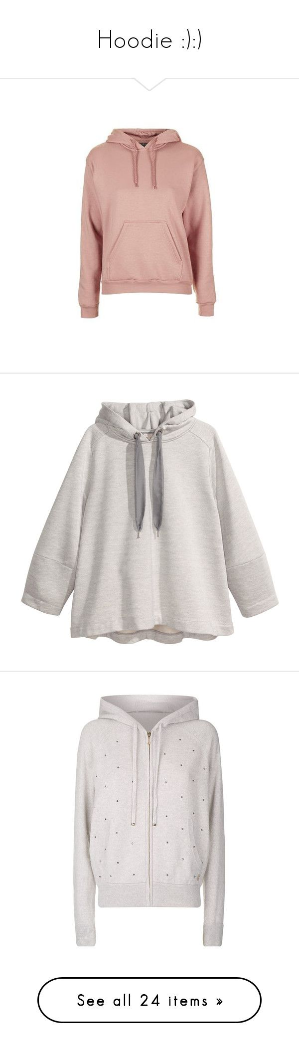 """Hoodie :):)"" by somethinglikelove ❤ liked on Polyvore featuring tops, hoodies, jumpers, outerwear, jackets, nude, sweatshirt hoodies, double layer top, petite hoodies and petite hoodie"