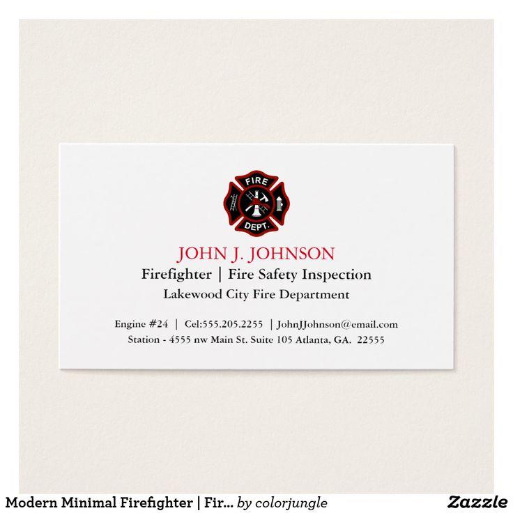 Luxury Firefighter Business Cards Elaboration - Business Card Ideas ...