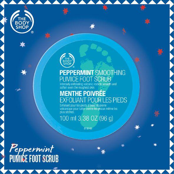 Peppermint Pumice Foot Scrub