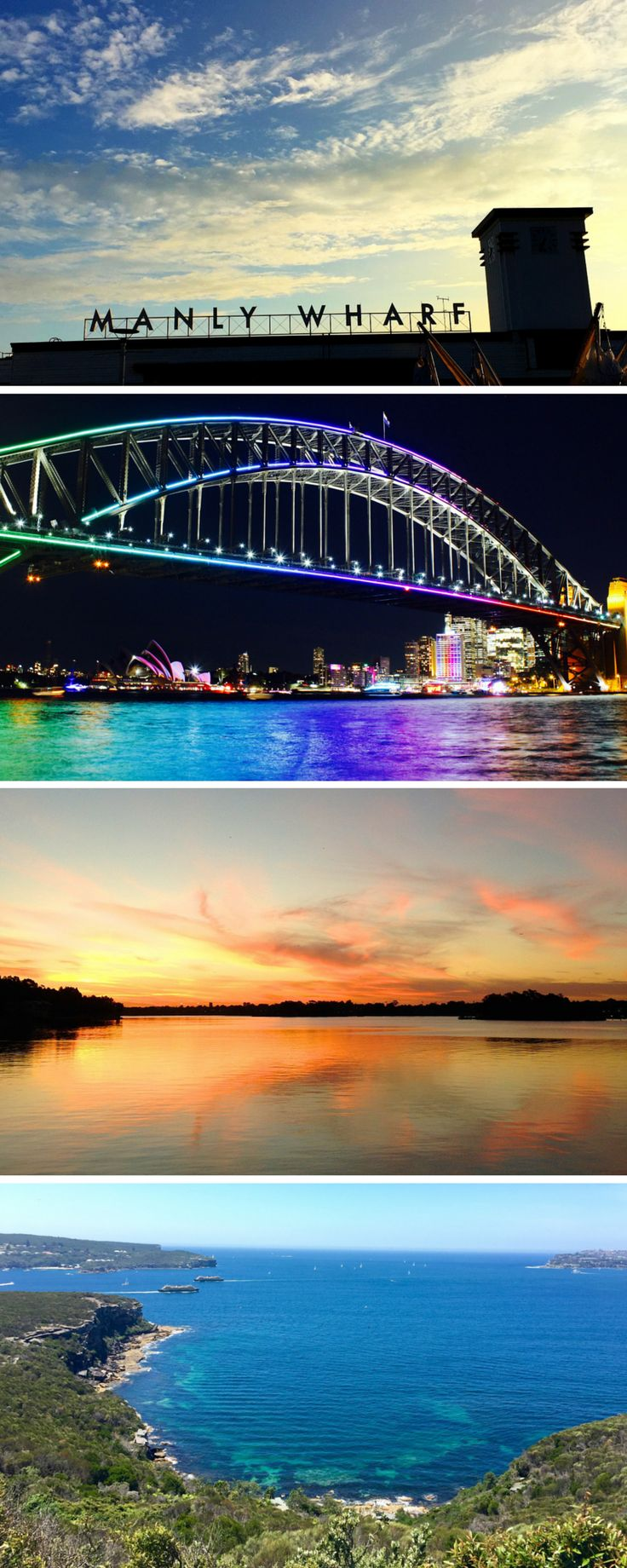 Just a few of our most favourite spots in our beautiful city of #Sydney...#Manly, #Narrabeen, #SydneyHarbourBridge and #MiddleHead. #LoveSydney
