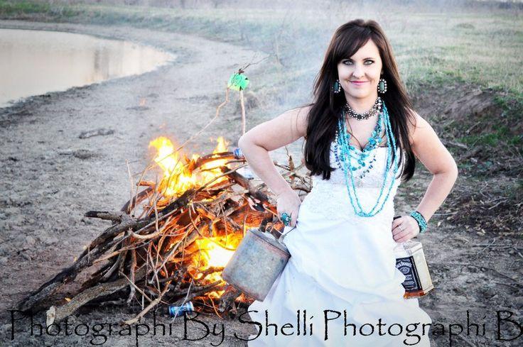 Trash the dress divorce photo shoot.