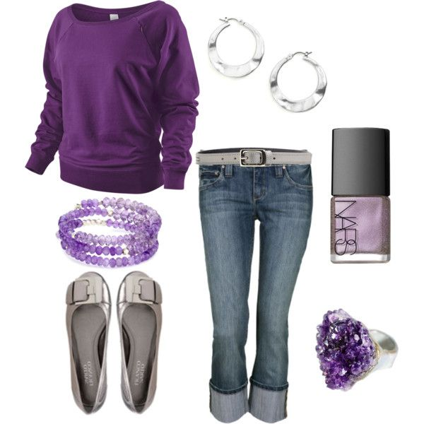 .: Sweater, Fashion, Style, Dream Closet, Clothes, Purple Outfits, Favorite Color, Purple Love