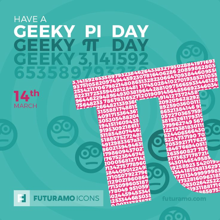 Have a geeky π day! Check out our FUTURAMO ICONS – a perfect tool for designers & developers on https://futuramo.com