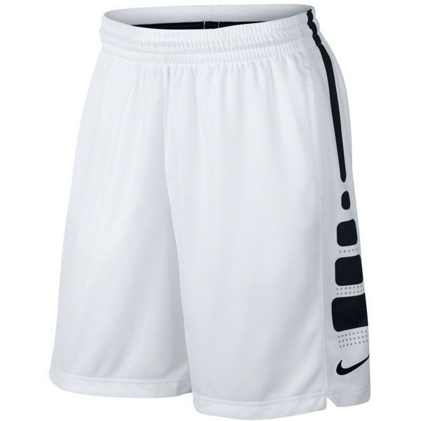 "Nike Men's Elite Dri-fit Basketball 9"" Shorts ($45) ❤ liked on Polyvore featuring men's fashion, men's clothing, men's activewear and men's activewear shorts"