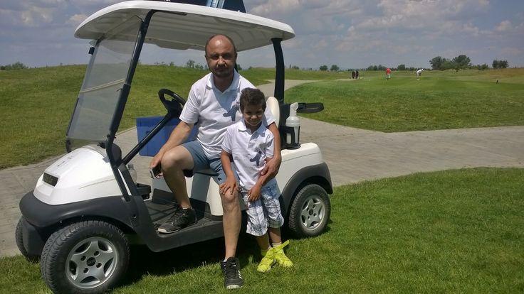 Father and son golf polo shirt.  Designet by www.bidiecountry.com