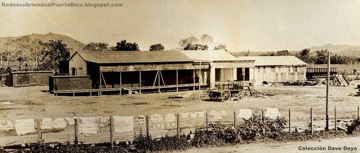 Estación de Humacao,años 20,Puerto Rico.