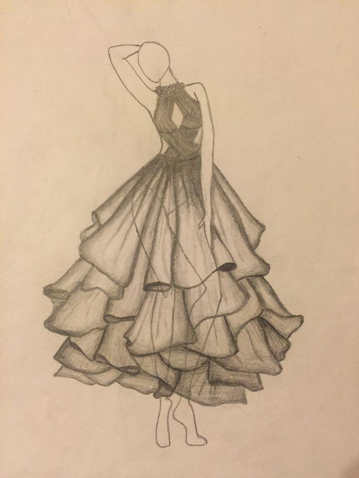 die besten 25 kleider zeichnen ideen auf pinterest paper dolls kleid m dchen malen und kleid. Black Bedroom Furniture Sets. Home Design Ideas