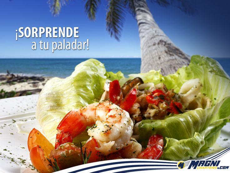 ¡No olvides probar la #gastronomía típica del lugar!
