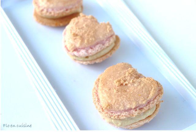Macarons à la crème pâtissière