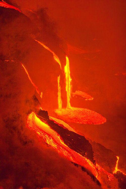molten lava flows flows & flows    http://24.media.tumblr.com/tumblr_m76n7bDUcm1r6d67xo1_500.jpg