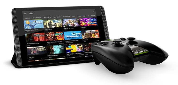 http://shield.nvidia.com/android-tv...// - Play games on the new SHIELD tablet K1