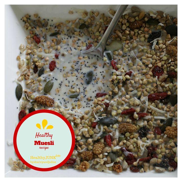 Healthy Muesli Recipe | Sharny and Julius