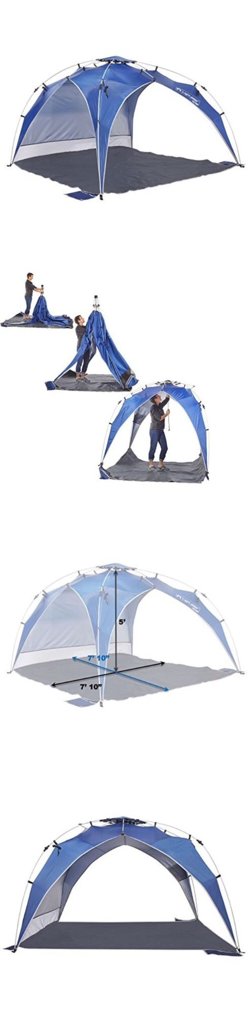 Canopies and Shelters 179011: Lightspeed Outdoors Quick Canopy Instant Pop Up Shade Tent New -> BUY IT NOW ONLY: $74.95 on eBay!