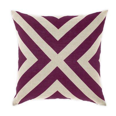 Grande Gatsby Cushion in Majestic Purple 50cm