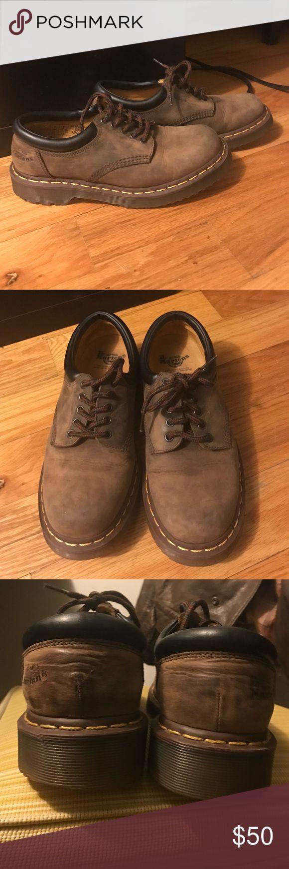Dr.Martens 8053 Crazy Horse Tan nubuck shoes Dr.Martens 8053 Crazy Horse Tan nubuck shoes. Excellent condition.  No flaws Dr. Martens Shoes Oxfords & Derbys