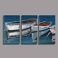 Hand Painted  Oil Painting Boat Landscape with St... – AUD $ 146.39