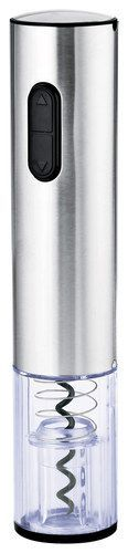 Wine Enthusiast - Rechargeable Electric Corkscrew - Stainless
