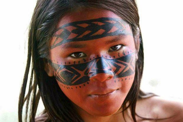 1000+ ideas about Indian Face Paints on Pinterest | Native ...