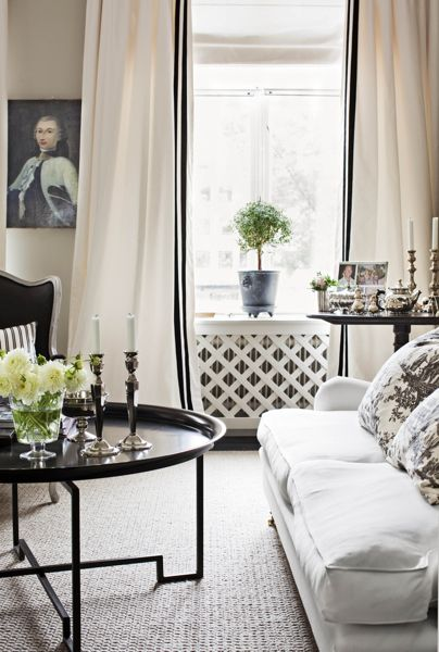 Caroline Endre's home in Stockholm