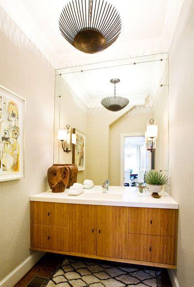 Full wall mirror Tracy Hardenburg