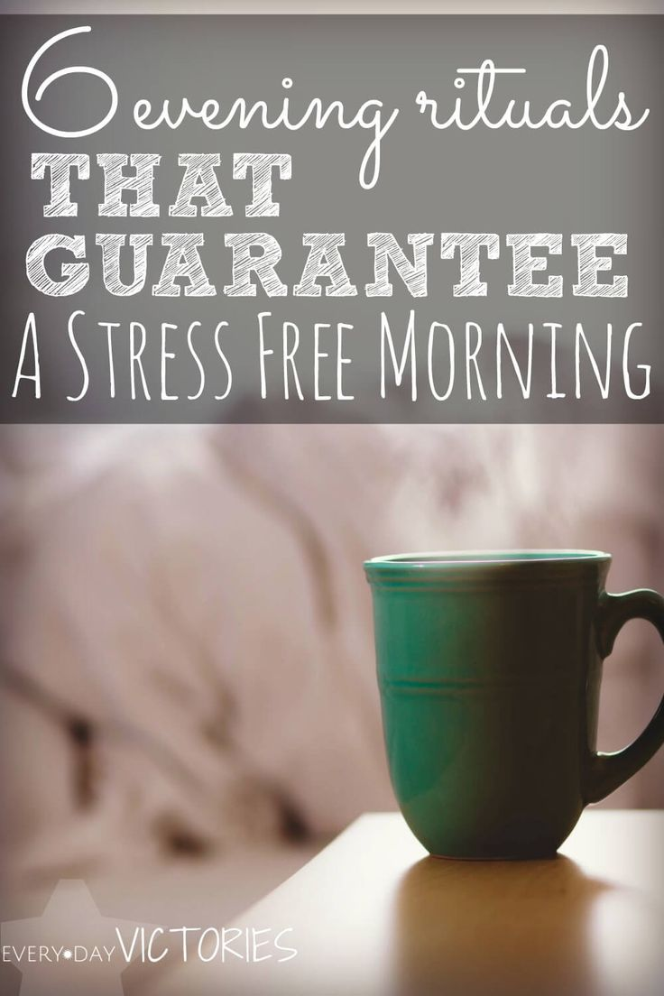I totally wanted to create a stress free life. I started with theses 6 simple evening rituals and my morning routine became immediately stress free. These are wonderful habits, and I was encouraged to throw in a few of my own! A completely transformative read.
