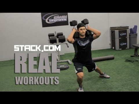 ▶ Real Workout: NHL's Jordan Eberle - YouTube