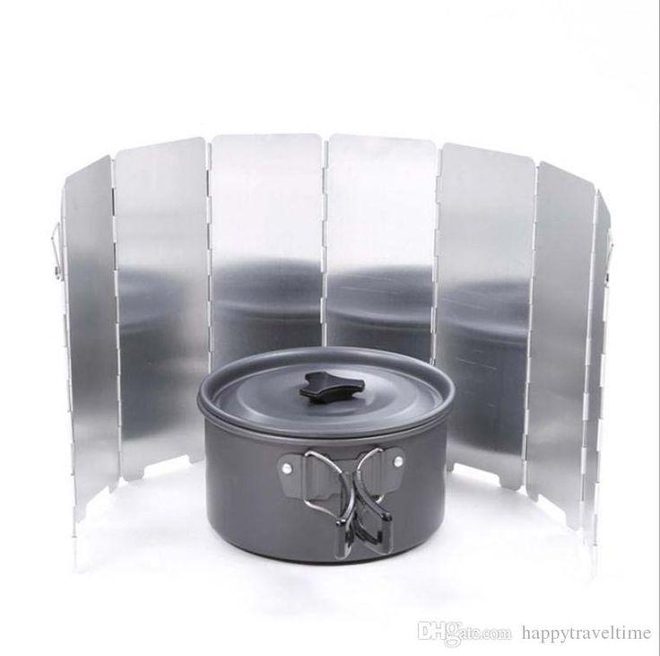 Encuentra el mejor 8 placas / set de aluminio del parabrisas de la estufa que acampa plegable al aire libre del parabrisas del cookout cortavientos, a precio al por mayor del proveedor cocina de campamento chino - happytraveltime en es.dhgate.com.