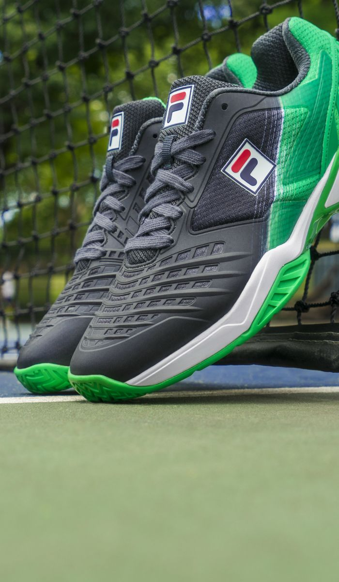 a1d0c619f26c2 Fila Axilus Energized Limited Edition Pro 1 Ebony/Highrise/Green ...