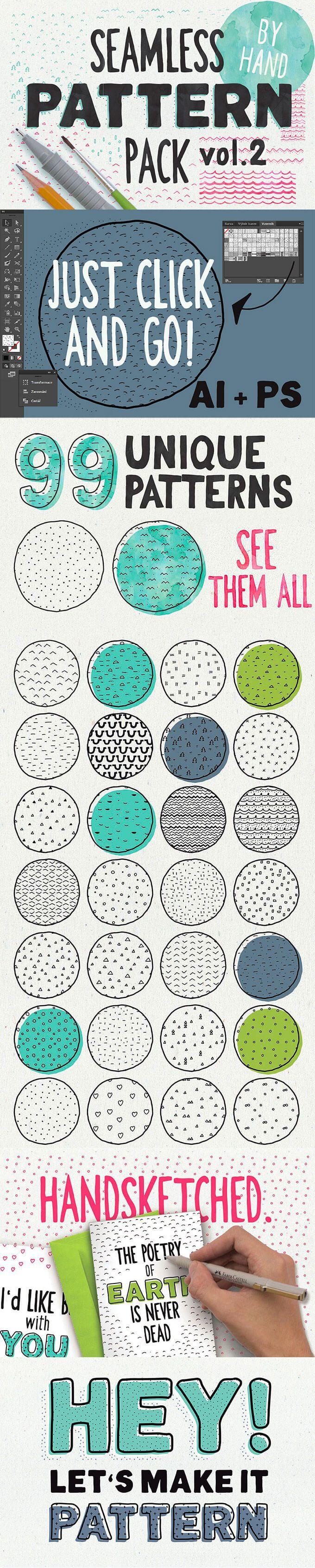 商用可でクリエイティブ!1000個の手描きイラスト素材完全キット The Creative Designer's Complete Illustration Kit - PhotoshopVIP