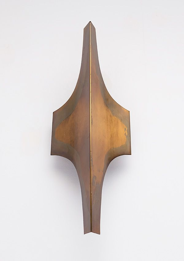 Anonymous; Brass Wall Light by Doria, 1960s.