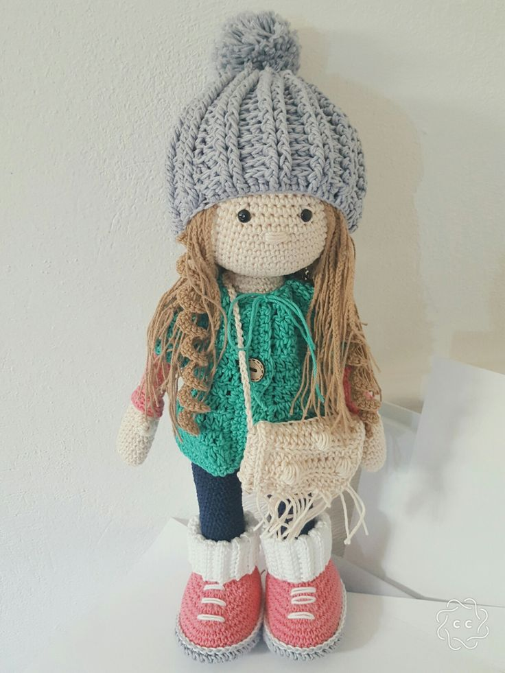 Knit Amigurumi Doll Pattern : Best images about knitting dolls on pinterest