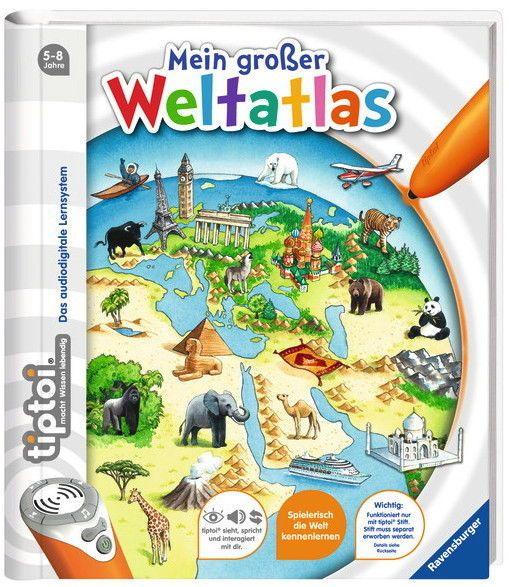 Ravensburger tiptoi Buch Mein großer Weltatlas 00598sparen25.info , sparen25.de , sparen25.com