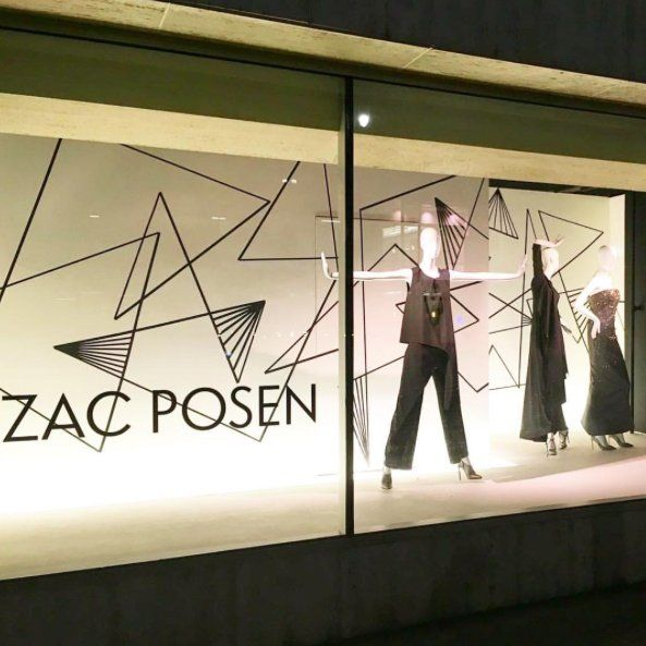 """NEIMAN MARCUS, Beverly Hills, California, """"Creativity is contagious... pass it on"""", for Zac Posen, pinned by Ton van der Veer"""