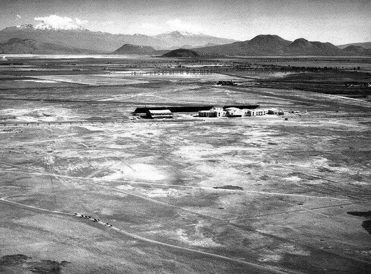 primer aeropuerto fotografias historicas ciudad de mexico
