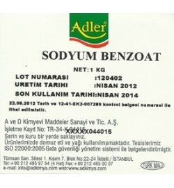 Sodyum Benzoat (E211)
