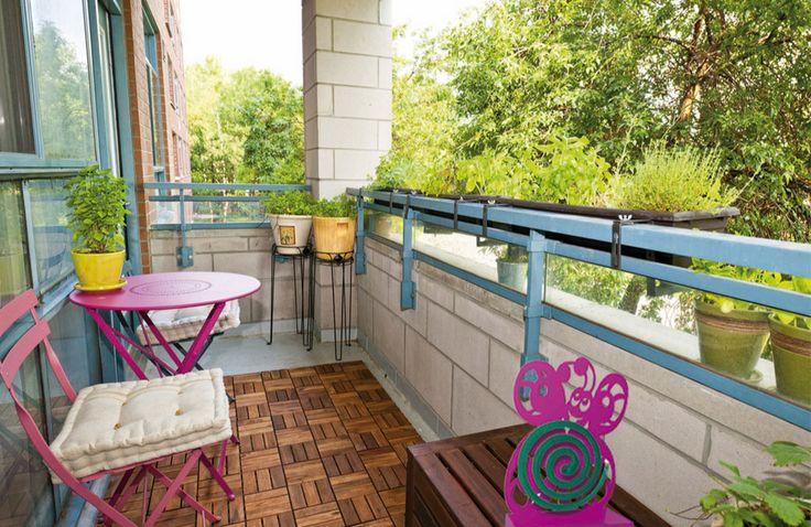 Dona un po' di colore al tuo balcone! #casa #arredo #giardino #balcone #design #moderno #colori #portazampirone #zanzare #estate #primavera