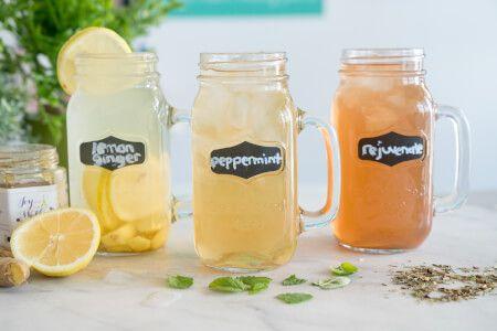 Iced Tea Trio • Joyous Health Recipe