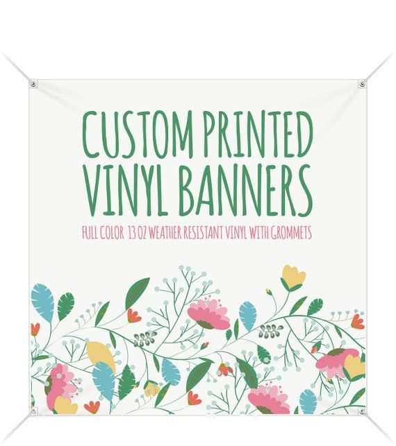 Custombanner Customvinylbanner Square In Shape But Not In Style Our High Quality Square Vinyl Banners Sta Custom Vinyl Banners Vinyl Banners Banner Printing