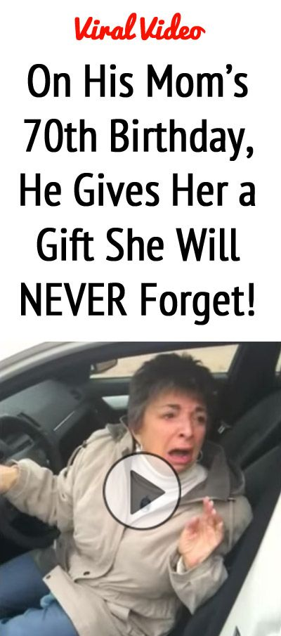 VIRAL VIDEO: Wanna make your mom cry? Give her a Mercedes Benz for Her 70th Birthday! You've gotta see this...