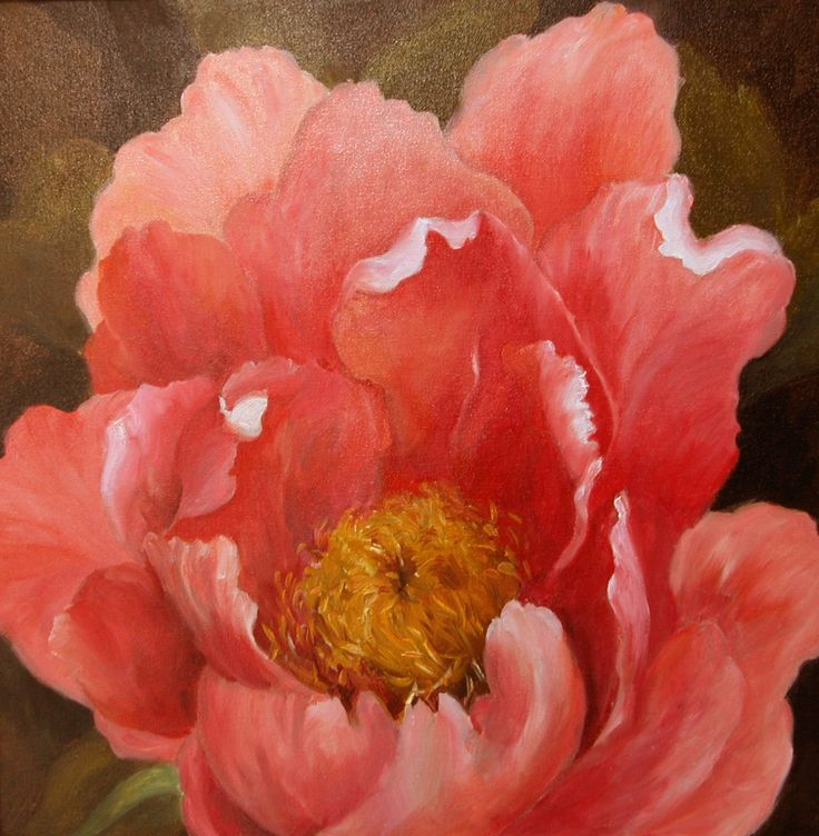 1000 Images About I Want Black Flowers On Pinterest: 1000+ Ideas About Peony Painting On Pinterest